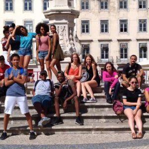 Groupe jeunes au portugal REGARDS